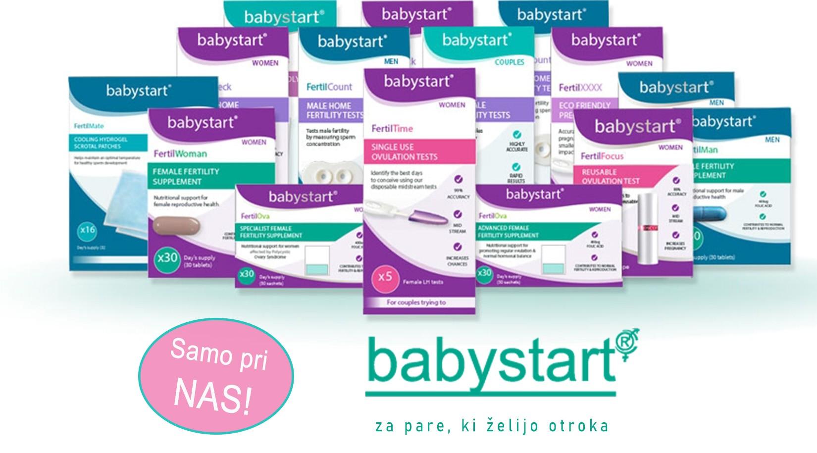 Babystart izdelki za plodnost
